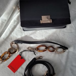 NWT Venlentino leather/ suede bag